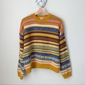 NWT Urban Outfitters striped crewneck sweater